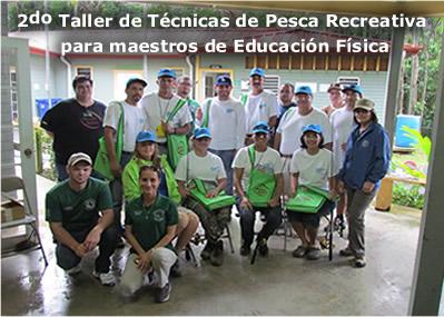 banner taller pesca