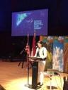 Secretaria DRNA ofrece discurso sobre contaminación lumínica