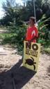 Voluntarios protegen nido