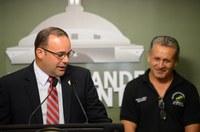 Representante César Hernández y Secretaria del DRNA anuncian radicación de nueva Ley de Pesca para Puerto Rico