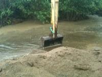 DRNA moviliza personal técnico para mitigar efectos adversos de las lluvias