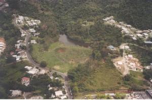 Represa Ajíes, en Añasco